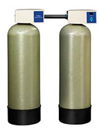 Culligan® High Efficiency (HE) Twin Series Water Softener Systems