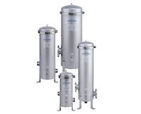 Culligan® GTCHB Series Multi-Cartridge Band-Clamp Liquid Vessels