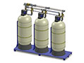 Culligan® Hi-Flo® 3e Skid Series Softeners